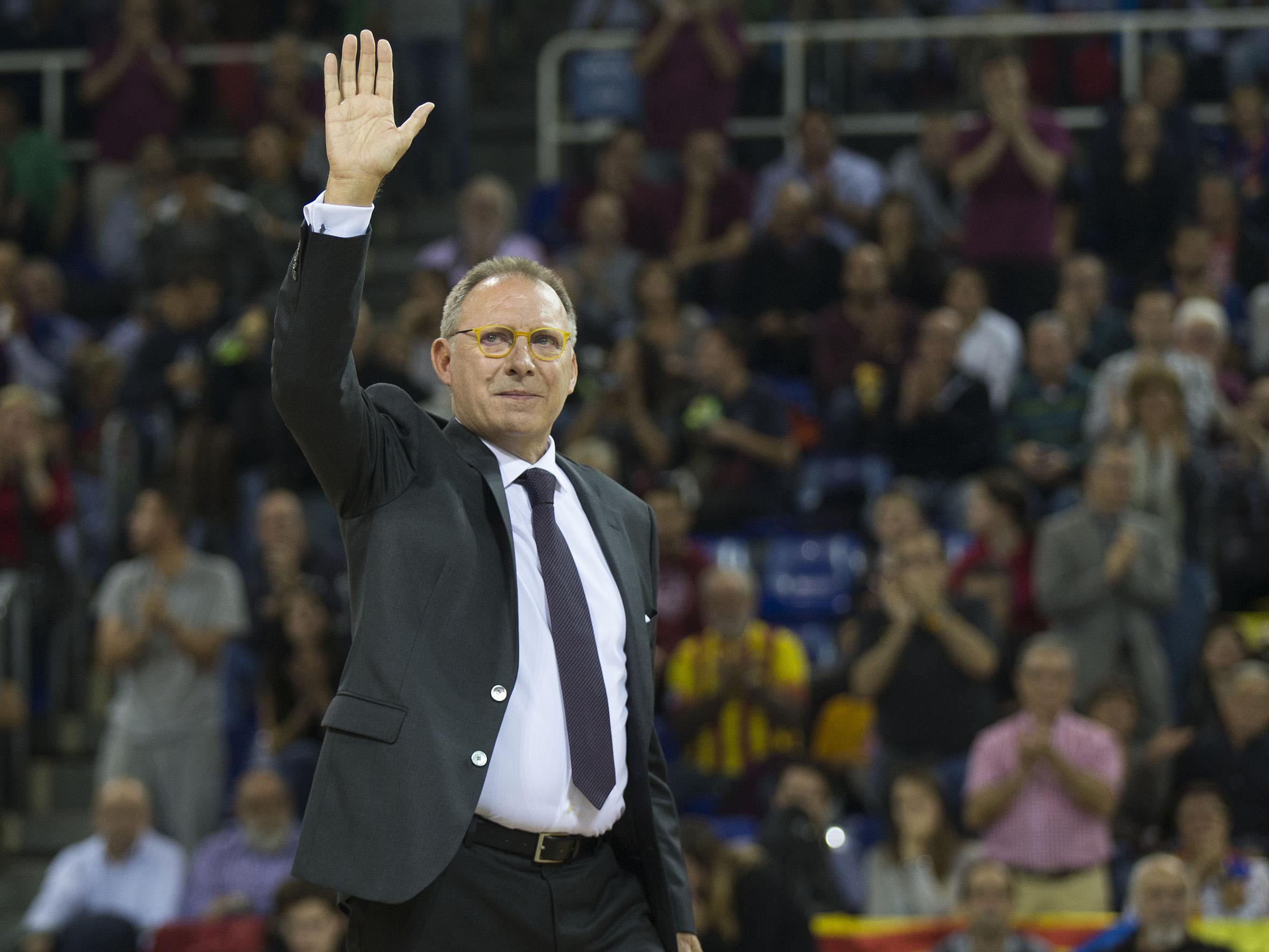 Homenatge a en Toni Bové al Palau Blaugrana 1