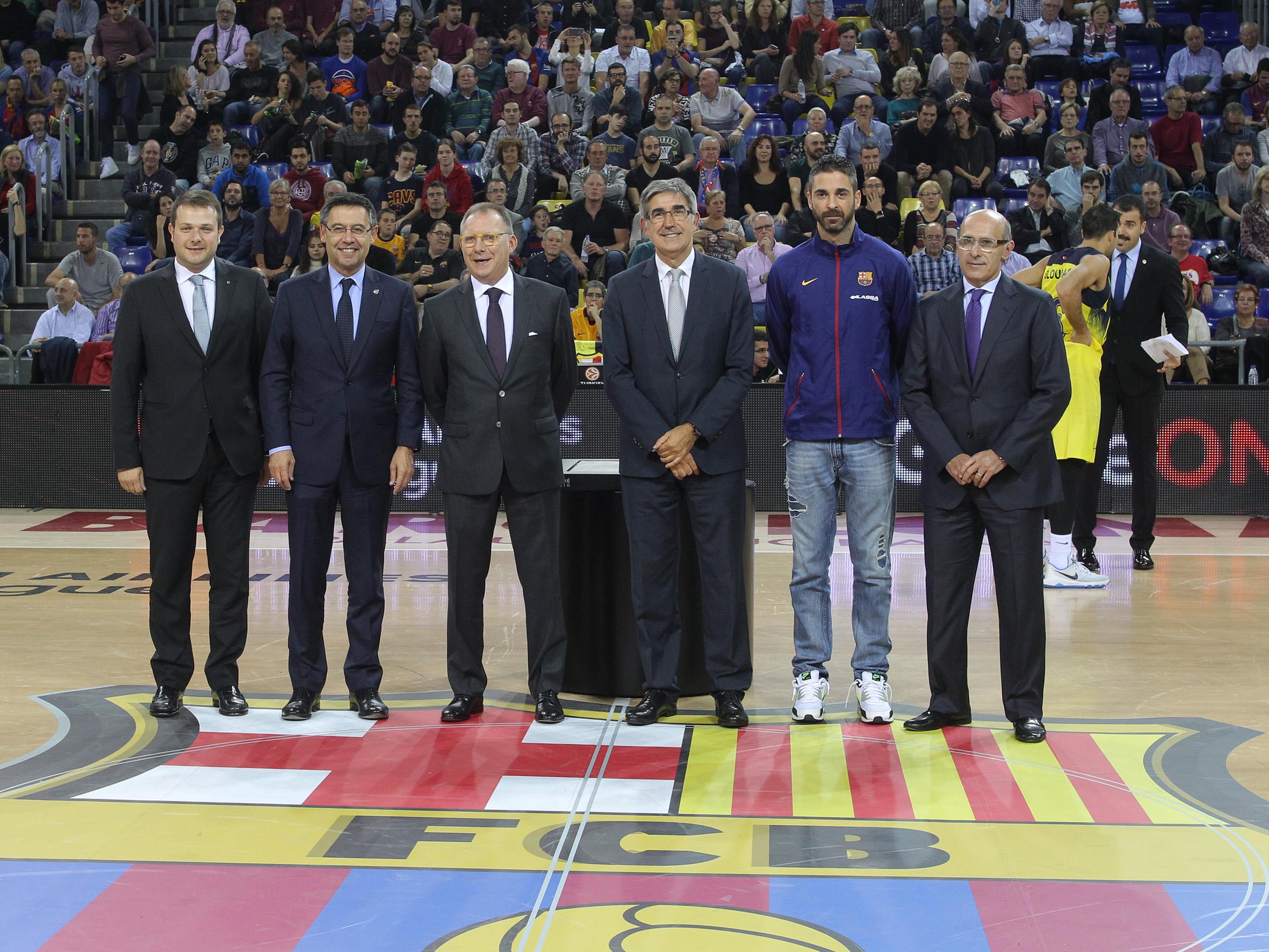 Homenatge a en Toni Bové al Palau Blaugrana 2